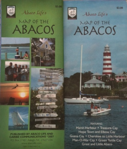 Abaco Life Map of Abaco