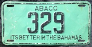 Abaco Plate