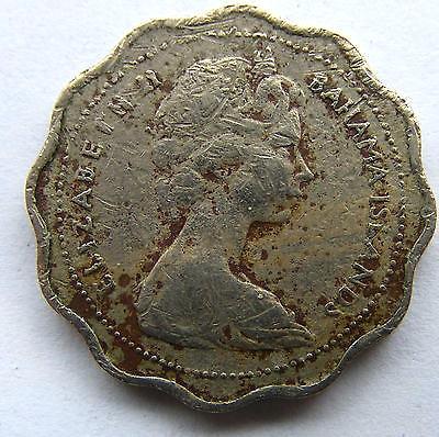 Bahamas Coin 1968 Bonefish . JPG