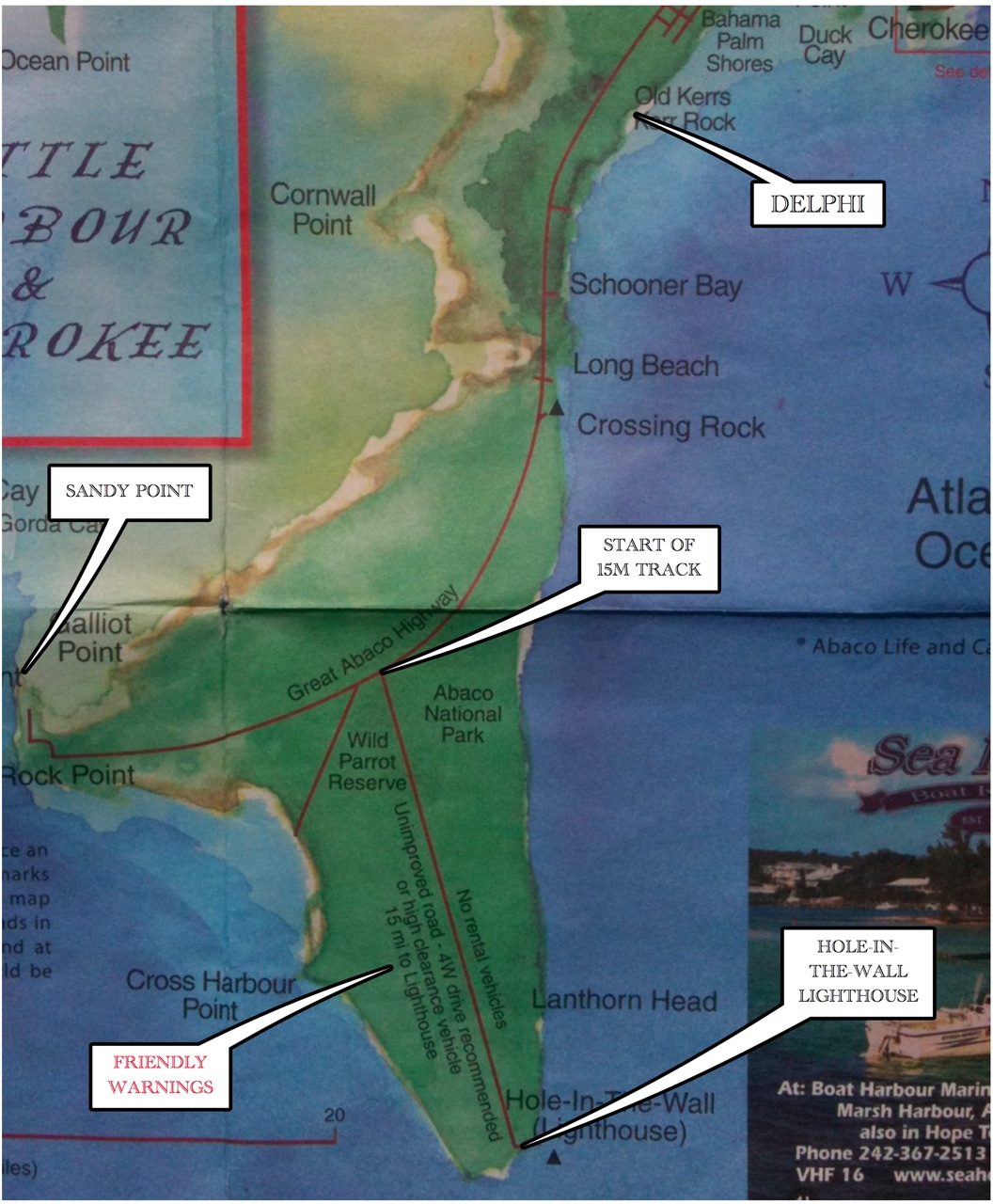 """""""TO THE LIGHTHOUSE…"""" A TRIP TO HOLE-IN-THE-WALL, ABACO ..."""
