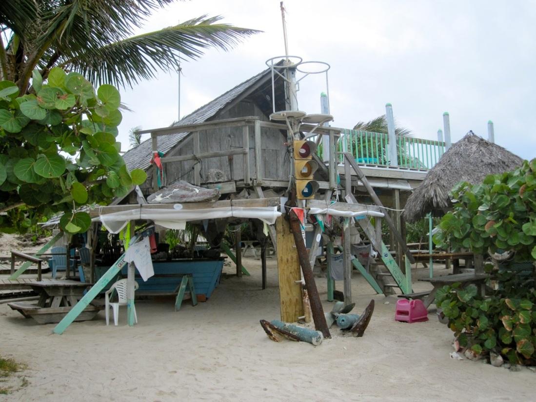 Pete's Pub Little Harbour, Abaco Bahamas (π Rolling Harbour)