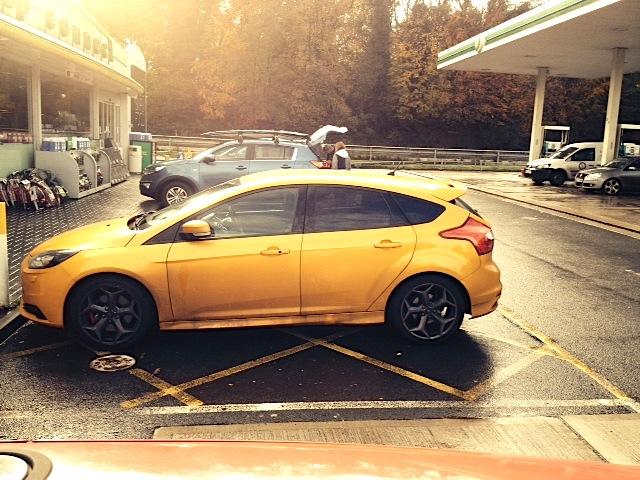 Ford ST Bahama Yellow