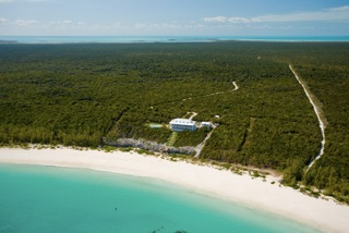 Delphi Club Rolling Harbour Abaco Aerial view