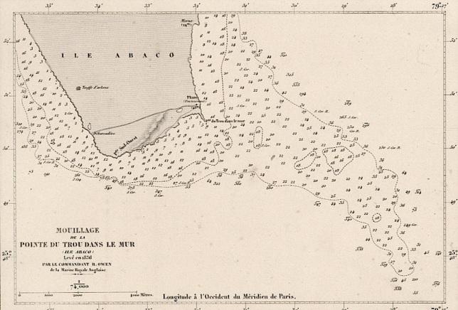 Nautical Map 1857