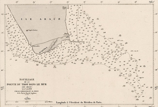 Nautical Map 1857