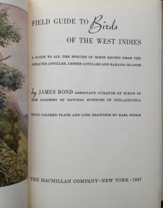 James Bond Birds F:P 1947 ed