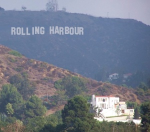 Rolling Harbour goes to Hollywood