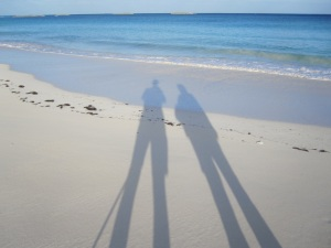 Delphi Beach Shadows