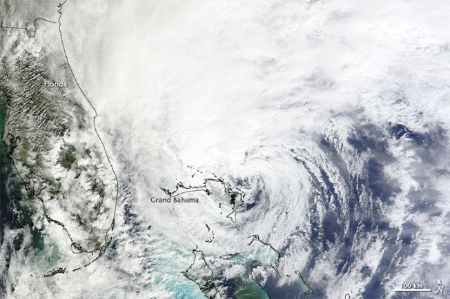 Hurricane Sandy Earth from Space 2