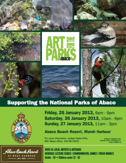 Art for the Parks: Abaco National Parks