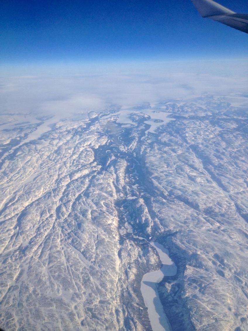 Newfoundland : Labrador aerial view 1