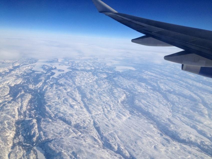 Newfoundland : Labrador aerial view 2