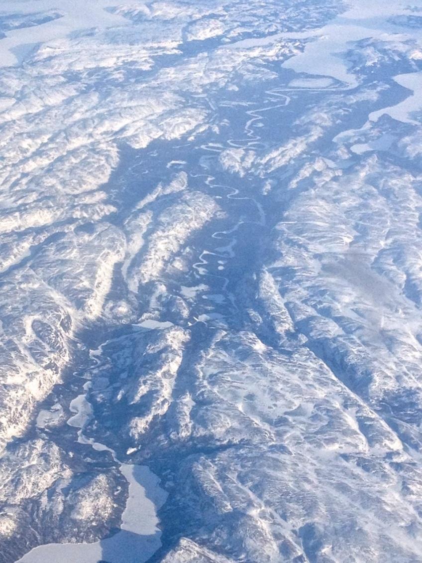 Newfoundland : Labrador aerial view 3