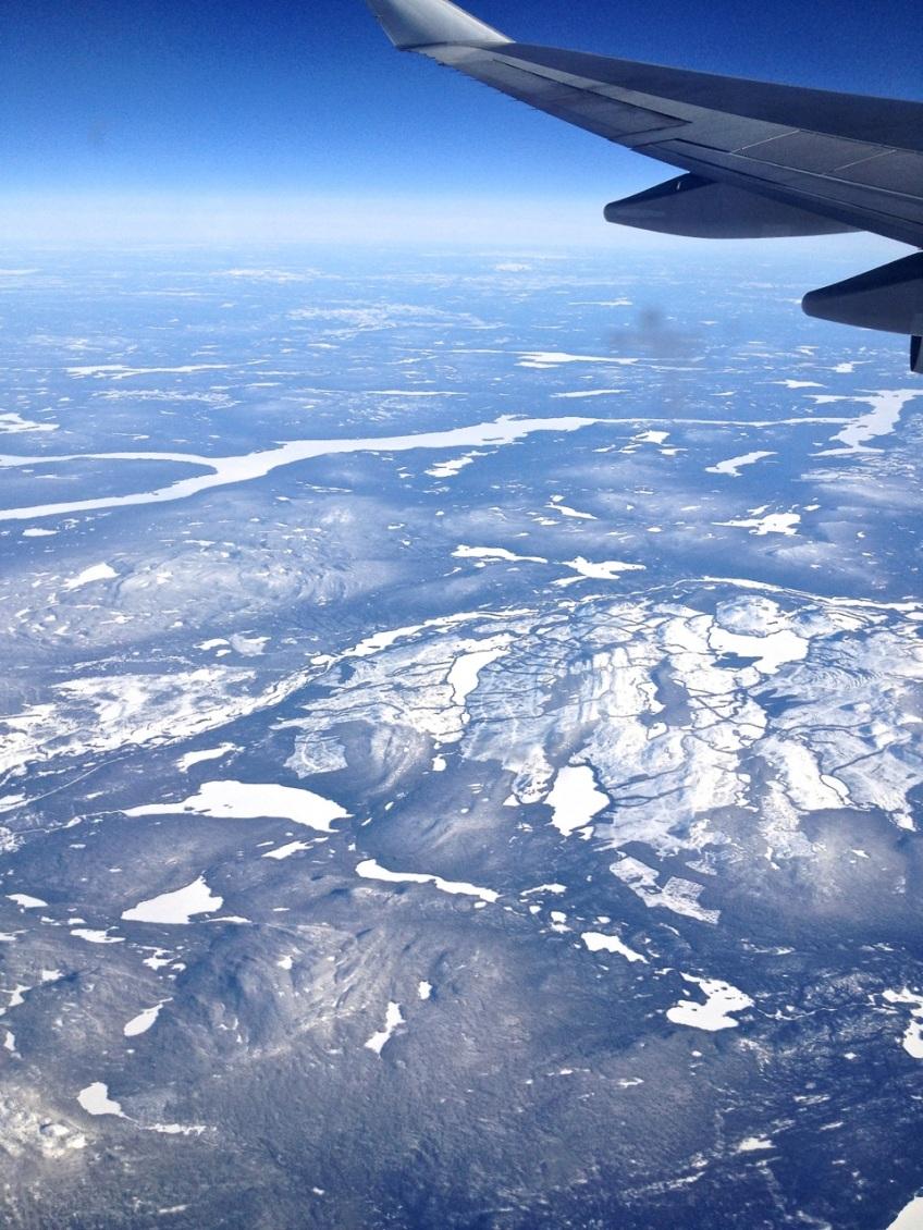 Newfoundland : Labrador aerial view 4