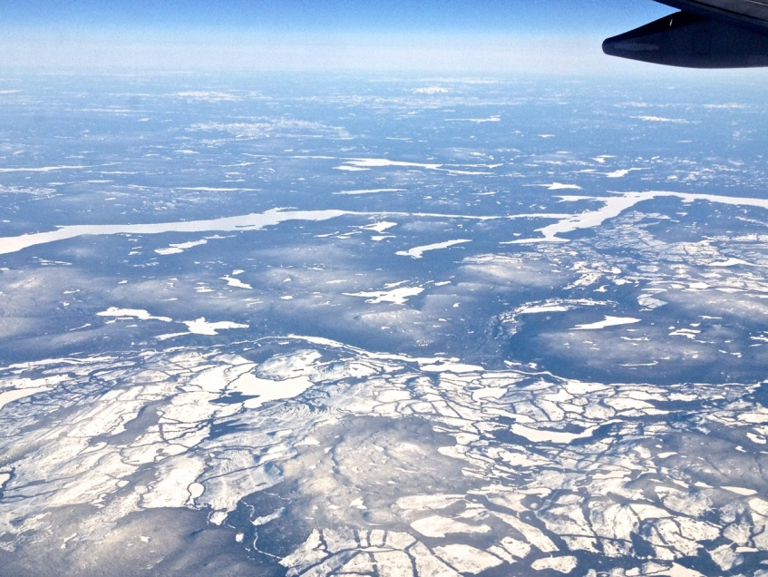 Newfoundland : Labrador aerial view 6