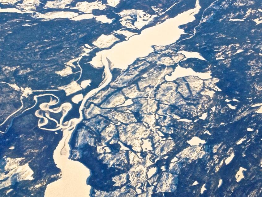 Newfoundland : Labrador aerial view 7