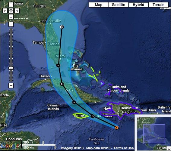 Chantal NOAA 10.7 11.00