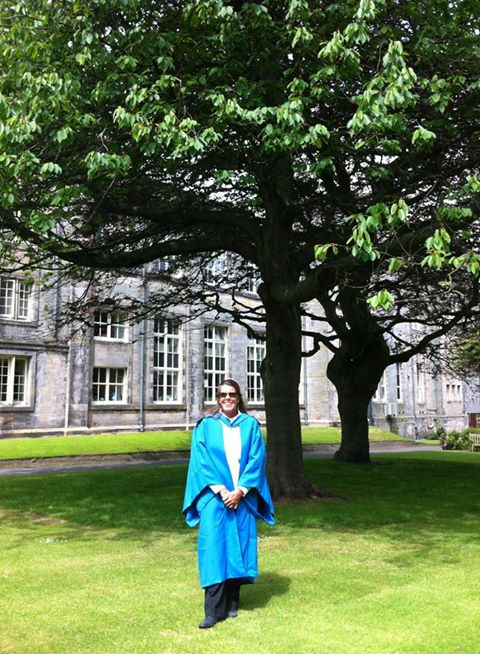 Dr Diane Claridge, St Andrews Uni