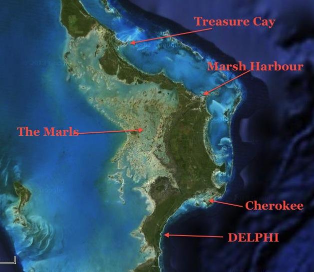 Abaco Egret Map 1 jpg