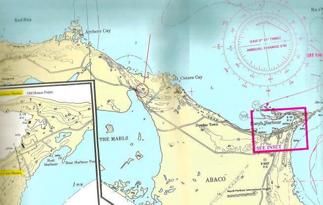 Abaco Nautical Chart