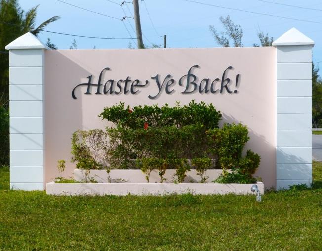 Haste Ye Back...