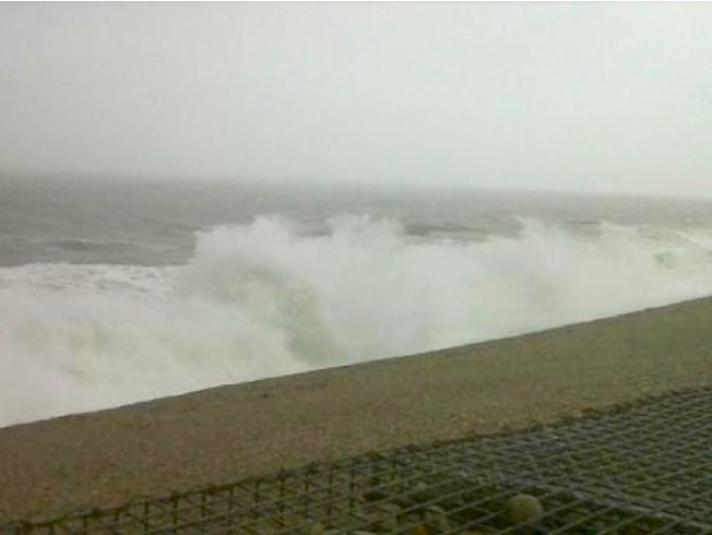 Storm Jude Chesil Beach 2