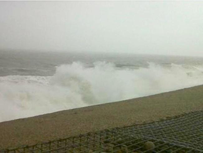 Storm Jude Chesil Beach 2