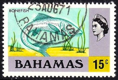 Bahamas Bonefish Stamp (old-style)