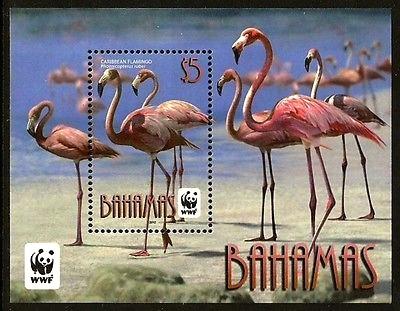 Bahamas Wildlife Stamps Flamingos