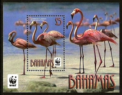 Bahamas Wildlife Stamps Flamingos