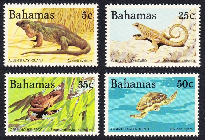 Bahamas Wildlife Stamps Sept 1984