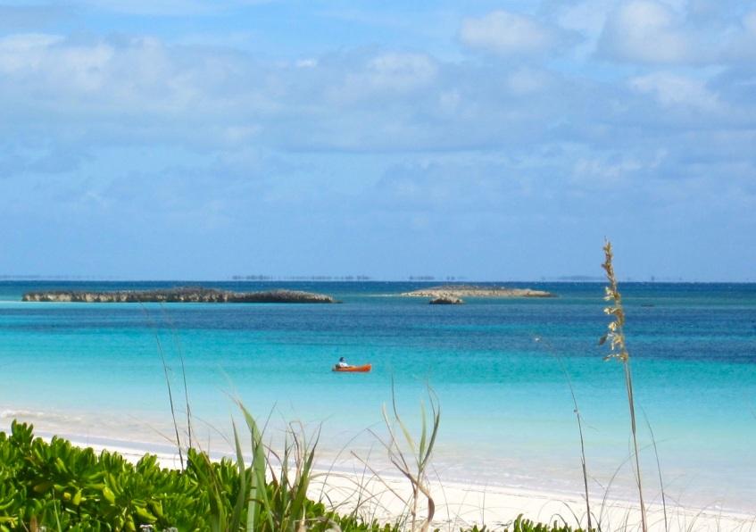 Kayak, Delphi Club, Abaco Bahamas