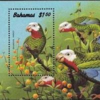 BAHAMAS WILDLIFE STAMPS