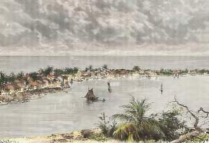 Hope Town Abaco - historic print