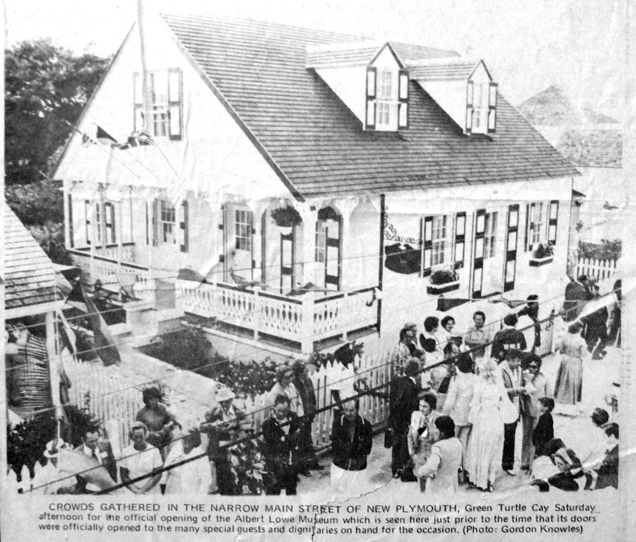 Albert Lowe Museum GTC Opening Nov 1976