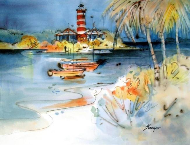 Hope Town Lighthouse, Abaco, Bahamas - Brigitte Bowyer