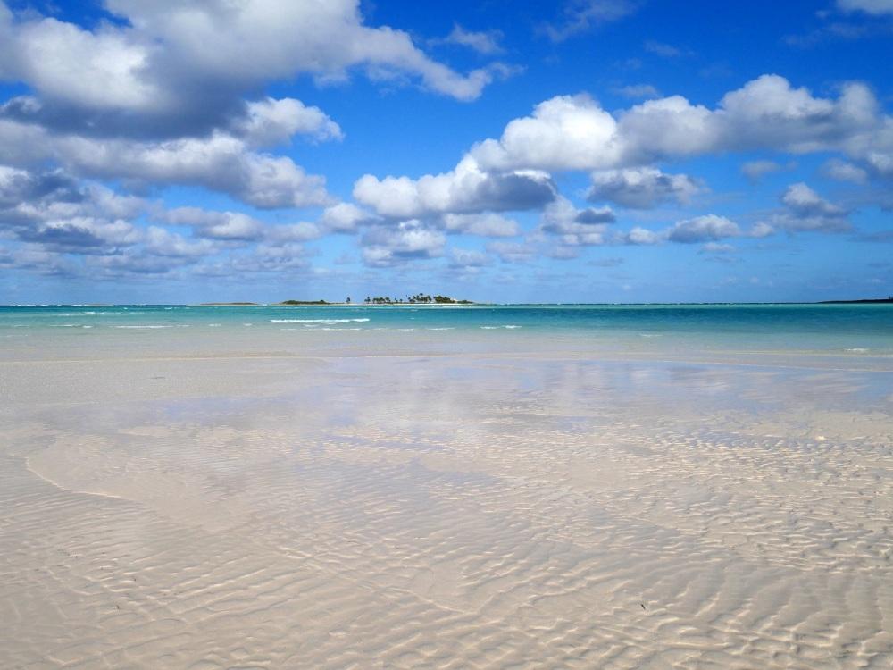 Sandbar, low tide – Gillam Bay, Green Turtle Cay, Abaco - Amanda Diedrick