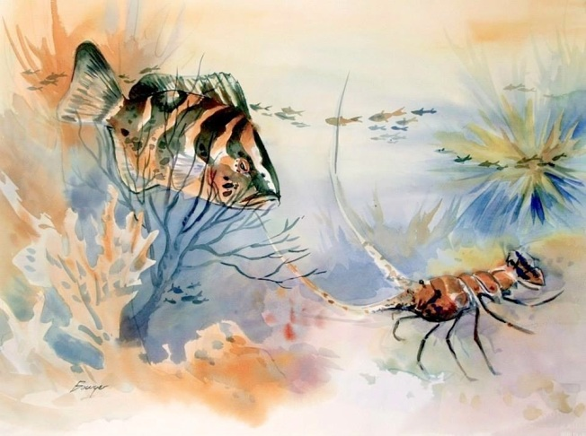 Brigitte Fish Art