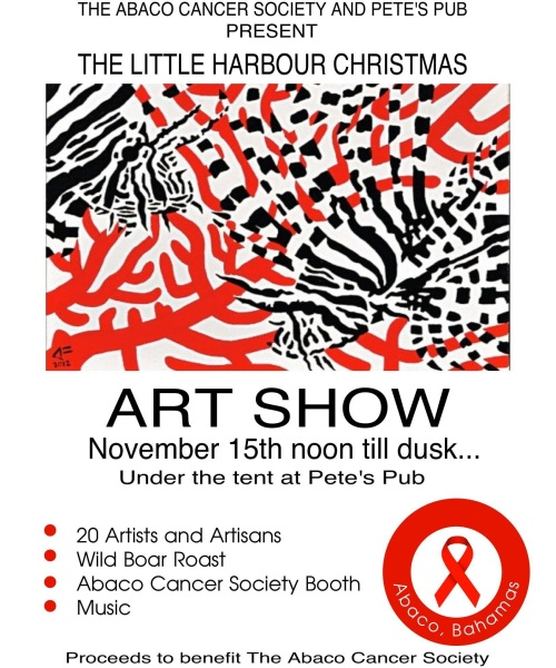 Art Show Nov 14 Pete's Pub
