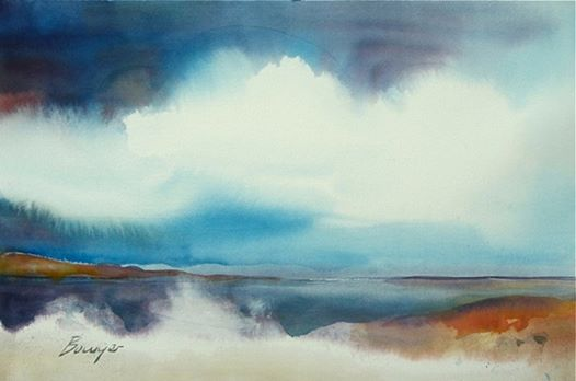 Surf's Up - Brigitte Bowyer Carey - Island Watercolors