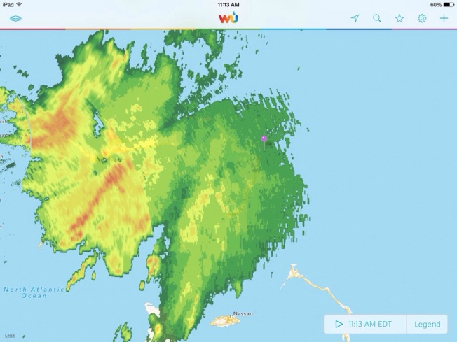 Tropical Storm Arthur Weather Underground (props to MOWMuseum Abaco)