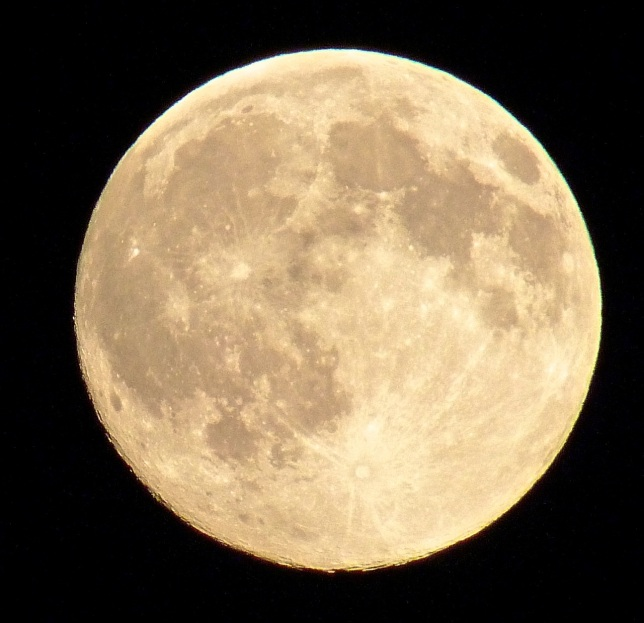 Supermoon, Dorset