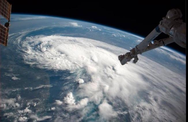 Tropical.Storm Arthur NASA_ISS Props Reid Wiseman & Chris ChadwickJPG