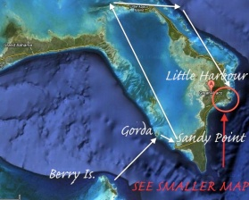 Randy's the Manatee's trip Berry Is. to Abaco copy