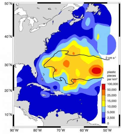 North Atlantic Gyre Garbage Patch wired_com