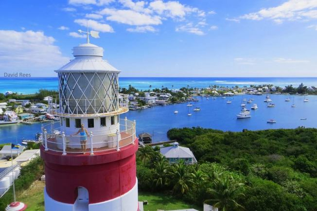 Hope Town Lighthouse, Abaco ©David Rees