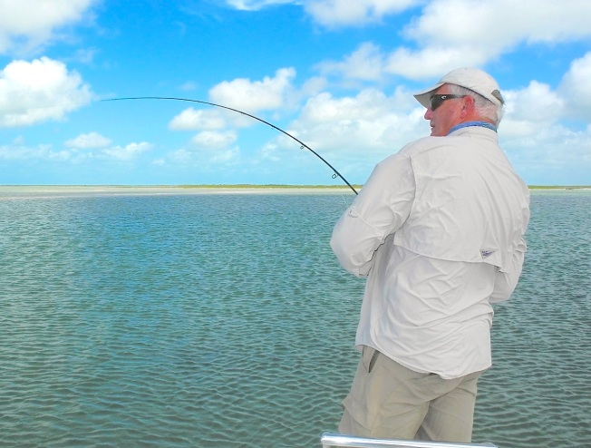 Fish on! Abaco Marls RH