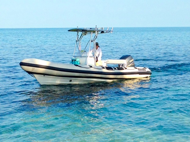 BMMRO Research Boat, Sandy Point, Abaco