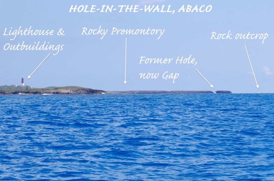 Hole-in-the-Wall Abaco (2015-2) 01 Location photo map