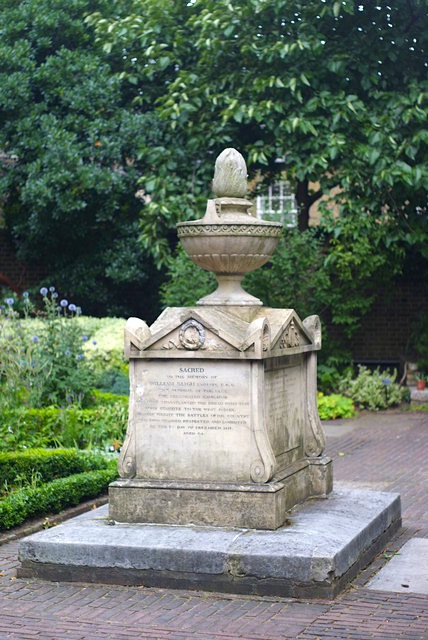 Grave of William Bligh, Lambeth, London (Geograph, Commons Media